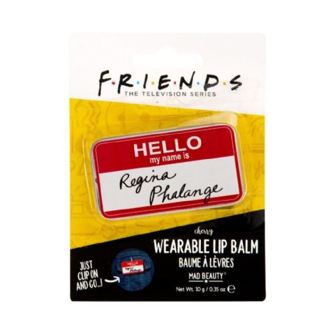 Friends Regina Phalange Name Badge Wearable Lip Balm Mad Beauty 10g